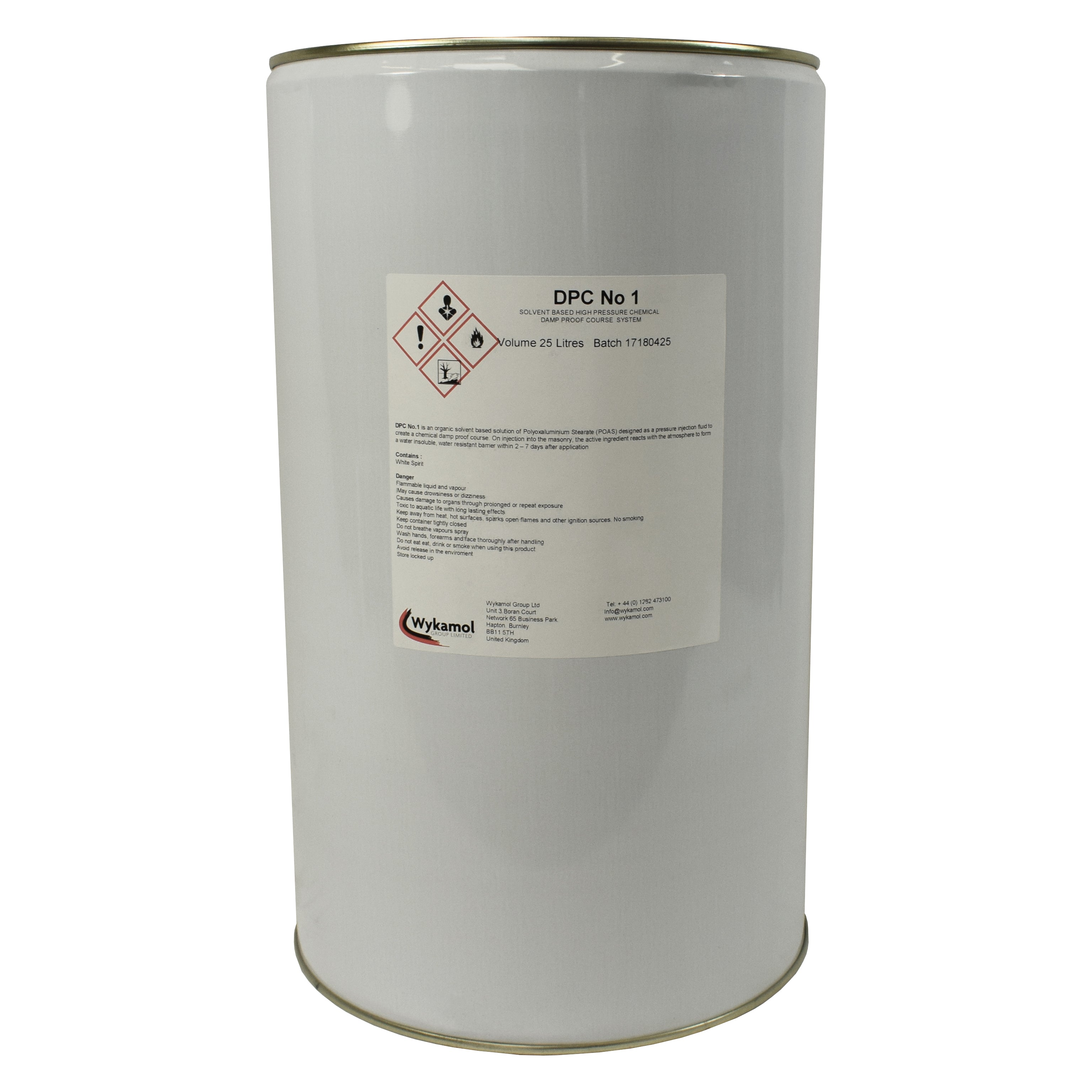 Damp Proofing Injection Fluid Dpc No 1 Solvent Based Treatment