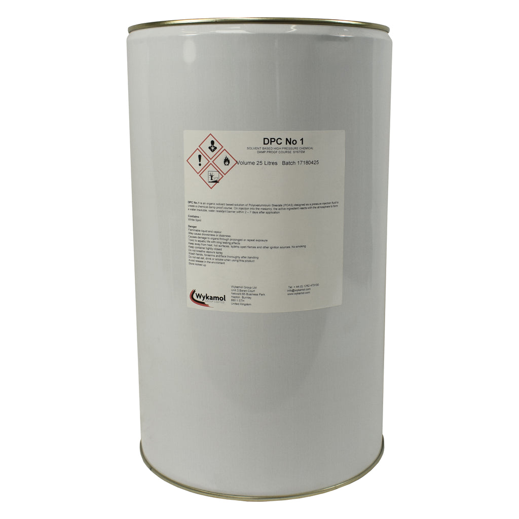Aquatex Damp Proofing Systems Waterproof Wall Paints: 'DPC No. 1' Solvent Based Treatment – Platinum Building Chemicals