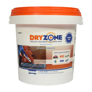 Dryzone ® Damp Proofing DPC Cream 5 Litre Tub