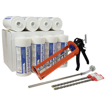 DampSolve-40 High Strength Damp Proof Cream - 1 Litre Cartridge Kits
