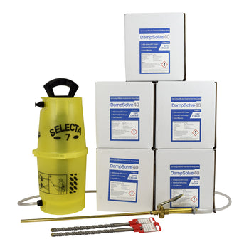 DampSolve™40 High Strength Damp Proof Cream - 5 Litre Kits
