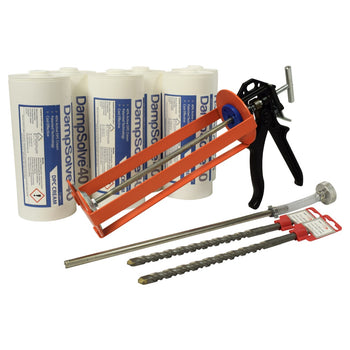 DampSolve™40 High Strength Damp Proof Cream - 1 Litre Cartridge Kits