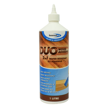 Bond-It Duo '2 in 1' Water Resistant Wood Glue