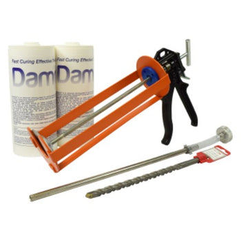 DampSolve Damp Proof Cream - 1 Litre Cartridge Kits