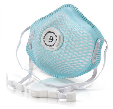 B-Brand FFP2 Vented Mesh Cup Dust & Mist Respirator