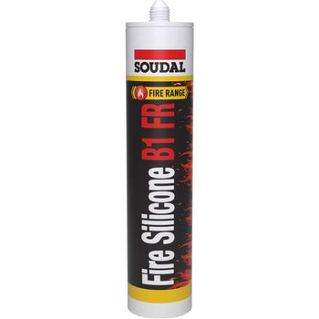 Soudal Fire Silicone B1 FR - Fire Rated Neutral Silicone