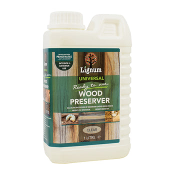 Lignum Ready-to-Use Universal Wood Preserver - Woodworm & Dry Rot Treatment
