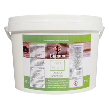 Lignum Pro Gel - Woodworm & Dry Rot Timber Treatment