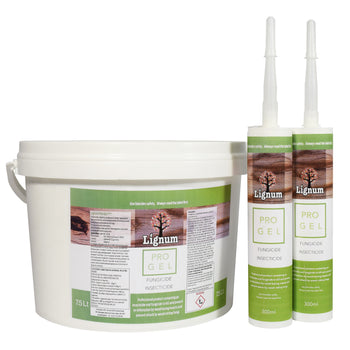 Lignum Pro Gel - Deep Penetrating Woodworm Treatment