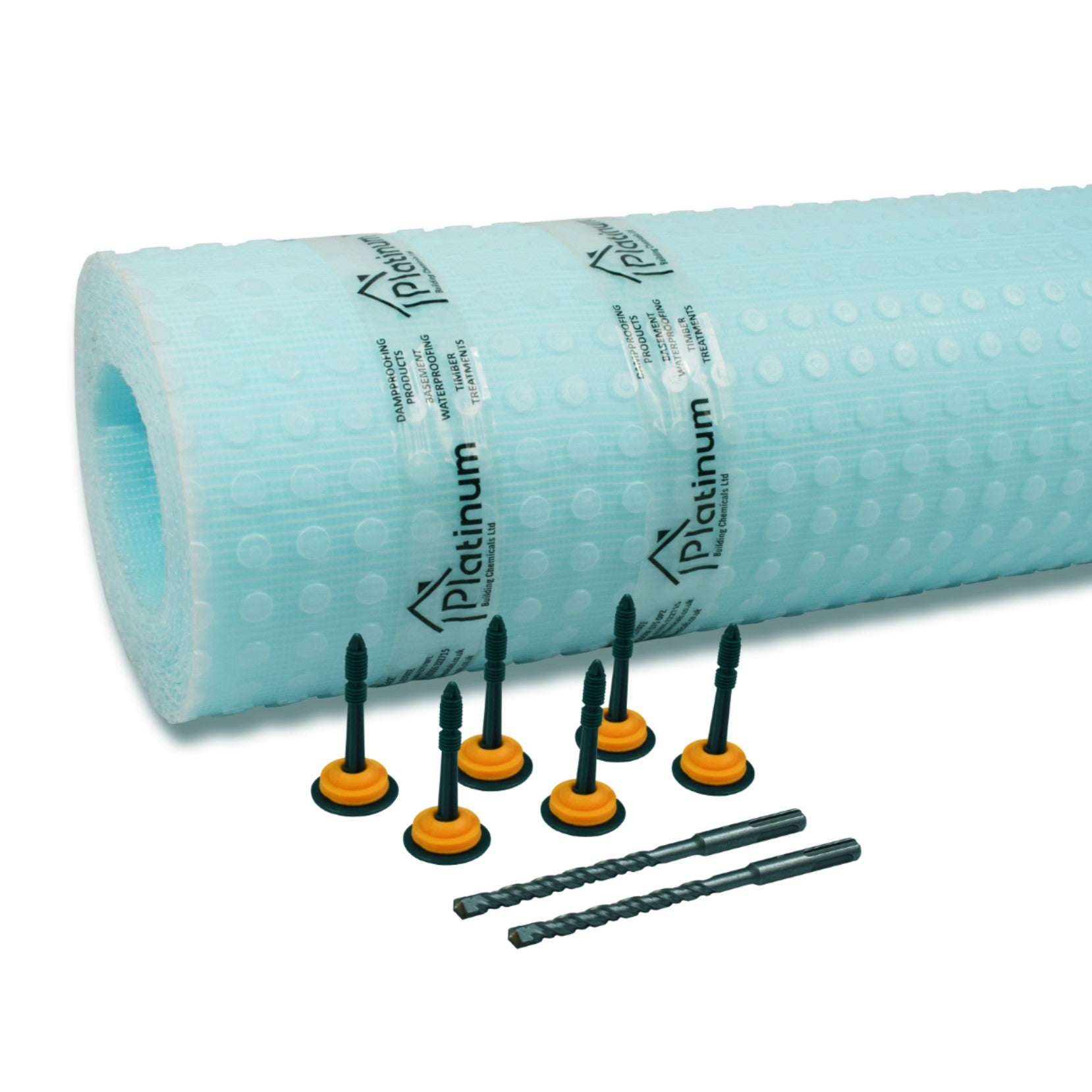 Damp Proofing Membrane Plaster Plug Fixings 8mm x 70mm Box Of 250