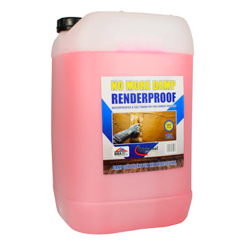 RenderProof Render Additive & Waterproofer 25 Litres
