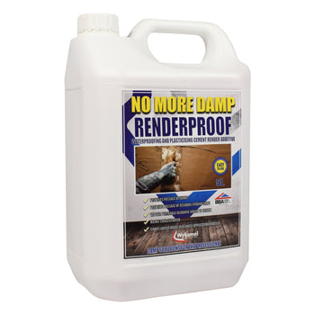 RenderProof Render Additive & Waterproofer 5 Litres