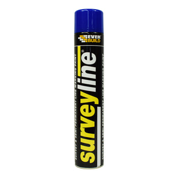 Everbuild Surveyline® Spray Marking Paint Blue