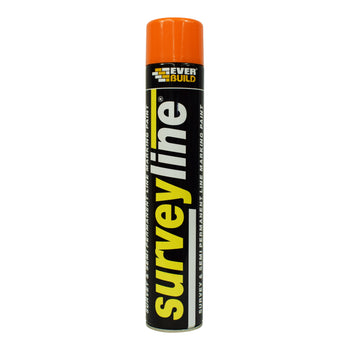 Everbuild Surveyline® Spray Marking Paint Orange