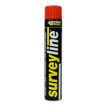 Everbuild Surveyline® Spray Marking Paint Red