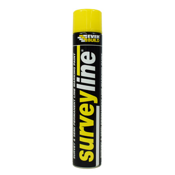 Everbuild Surveyline® Spray Marking Paint Yellow