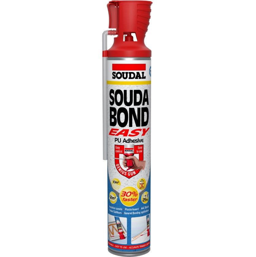 Soudal Soudabond Easy   Adhesive Foam for Drywall   From £ ...