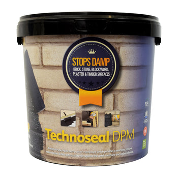 Technoseal Damp Proof Paint Black