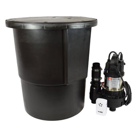 Platon Aqua Pump System - Single Pump & Sump Ground Water Control System