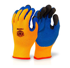 Beeswift Thermo Star Fully Dipped Latex Palm Thermal Grip Gloves