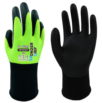 Wonder Grip 1855HY U-FEEL - Nitrile Palm - Ultra Thin General Handling Gloves