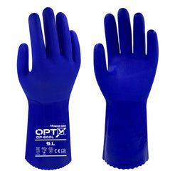 Wonder Grip 600L OPTY - Triple PVC Coating - Chemical Resistant Gloves