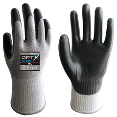 Wonder Grip 765 OPTY - PU Palm - Cut Resistant Gloves (ISO Cut Level B)