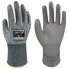 Wonder Grip 775 OPTY - PU Palm - Cut Resistant Gloves (ISO Cut Level C)