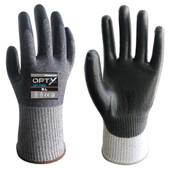 Wonder Grip 785 OPTY - PU Palm - Cut Resistant Gloves (ISO Cut Level D)