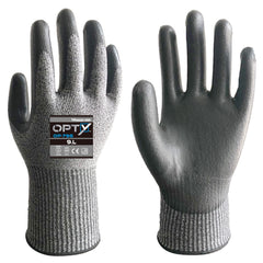Wonder Grip 795 OPTY - PU Palm - Cut Resistant Gloves (ISO Cut Level E)