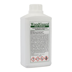 WoodGuard Dual Fungicide & Insecticide - Woodworm & Dry Rot Timber Treatment