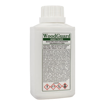 WoodGuard Insecticide - Woodworm Treatment