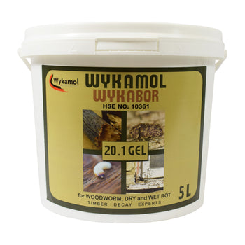 Wykabor 20.1 Boron Gel - Boron Woodworm & Dry Rot Treatment