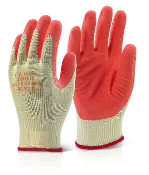 Premium Multi-Purpose Latex Palm Grip Gloves - Pair