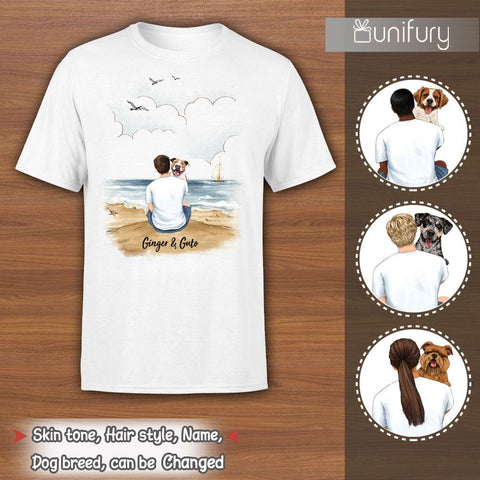 3. Personalized T-shirt Gifts For Dog Dad