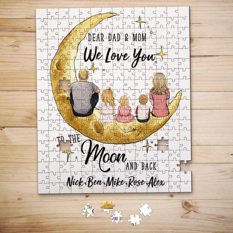 Personalized Jigsaw Puzzle gift for Dad