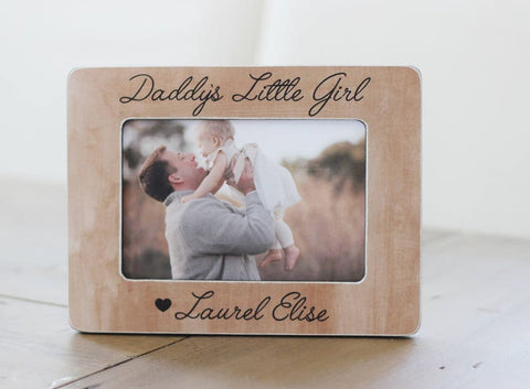 Dad Gift Personalized Picture Frame