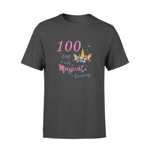 [Man Woman] Happy 100 days of school premium t-shirt ideas for kid kindergarten students - 100 days of magical learning
