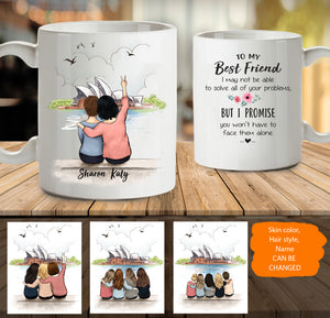 Personalized Best Friends (Up To 5 Persons) Opera Sydney - 2308