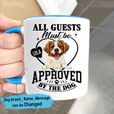 Personalized Accent Mug Gifts For Dog Lovers - Funny