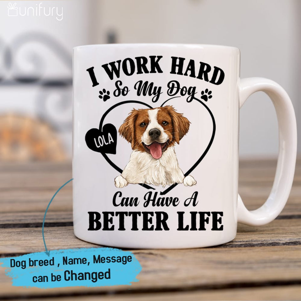 Personalized Coffee Mug Gifts For Dog Lovers - Funny