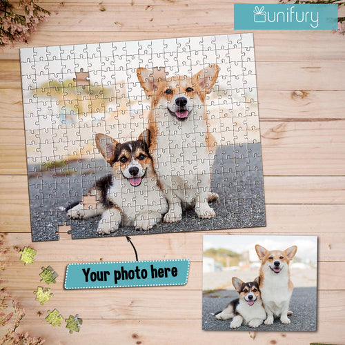 Personalized custom photo puzzle