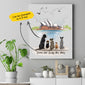 Personalized Dog Canvas Print Opera - 2311