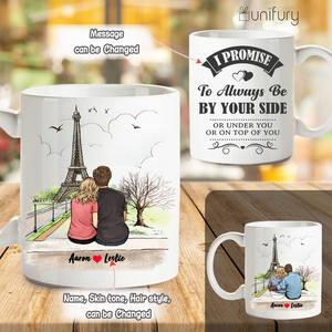 Personalized Coffee Mug Gifts For Him For Her Couple Eiffel Tower
