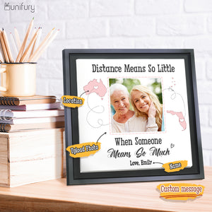 Personalized Framed Canvas Gift for Mom Dad Grandma Grandpa from Daughter Son Granddaughter Grandson- 2432