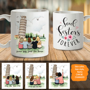 Personalized Best Friends (Up To 5 Persons) Pisa - 2330