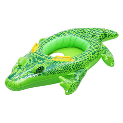 Opblaasbare Kids Baby Crocodile Zwemmen Ring Float Boat Seat Zwemmen Zwembad Floaties