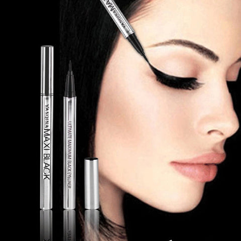 1 STKS CoolExtreme Vloeibare Zwarte Eyeliner Waterdichte Up Beauty Eye Liner Potlood Pen Makeup Tools   SKONHED