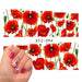 1 sheet Charmant Nail Decals Volledige Wraps Bloemen Water Transfer Nail Stickers Decoraties DIY WaterManicure Gereedschap SASTZ094   Sara Nail Salon