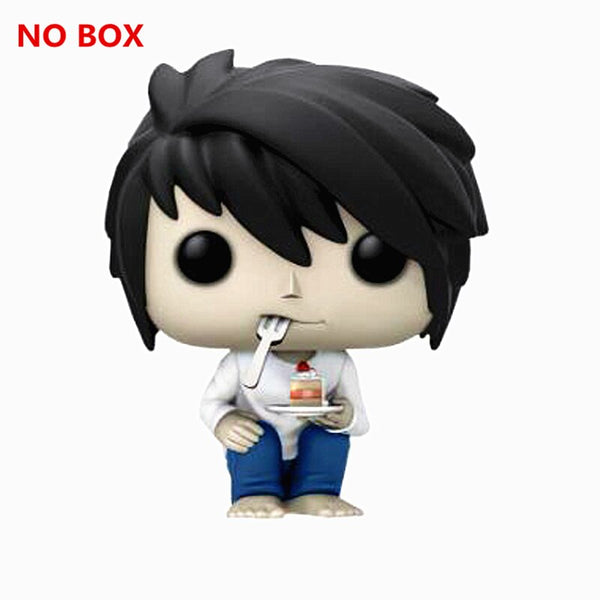 Wonderlijk 10 cm Death Note L Ryuuku Ryuk Death Note Action Figure Q-versie JF-05